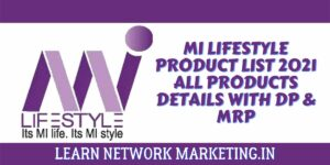mi lifestyle product list 2021 all Products Details with DP & MRP